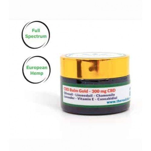 The Real CBD 300mg Balm skin care, buy online thailand japan