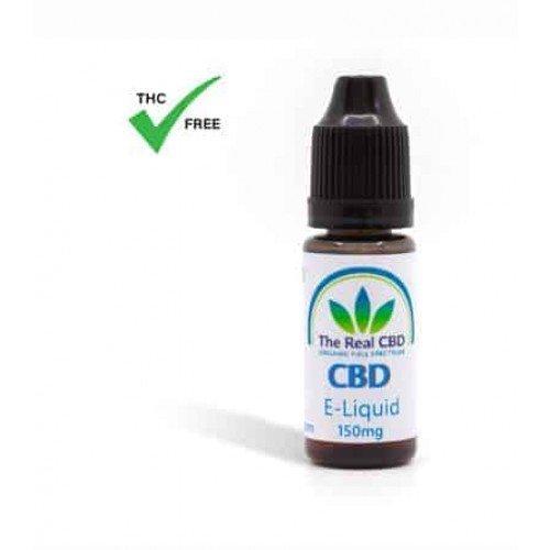 The Real CBD E Liquid 150mg CBD