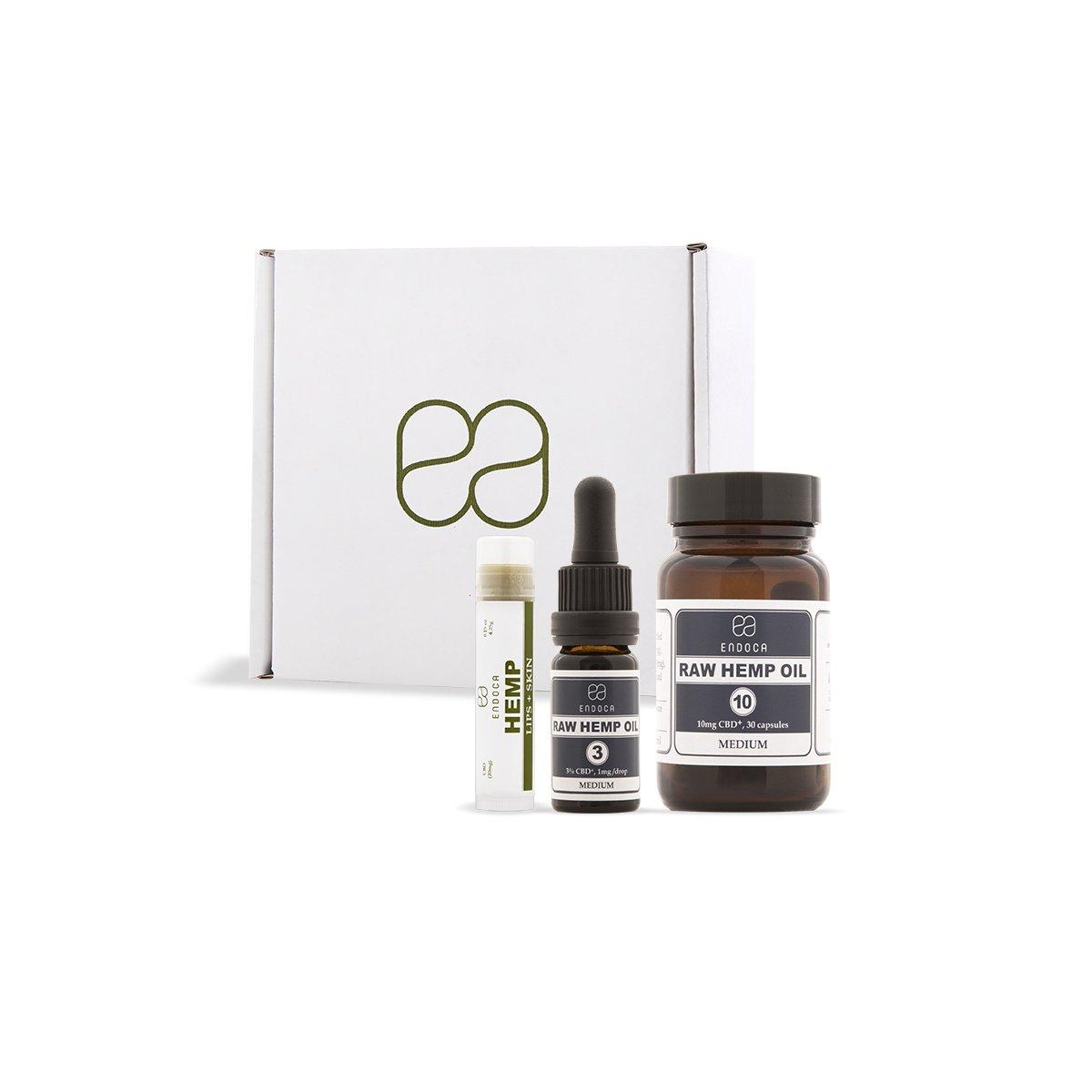 Endoca CBD Packs buy online at Authentic Organic CBD