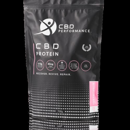 CBD Performance, 1000MG CBD Protein powder, buy online for fast worldwide shipping