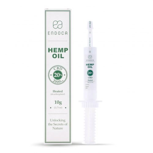 Endoca Raw Hemp Extract 2000Mg, Buy online at authentic organic CBD for Fast International Shipping