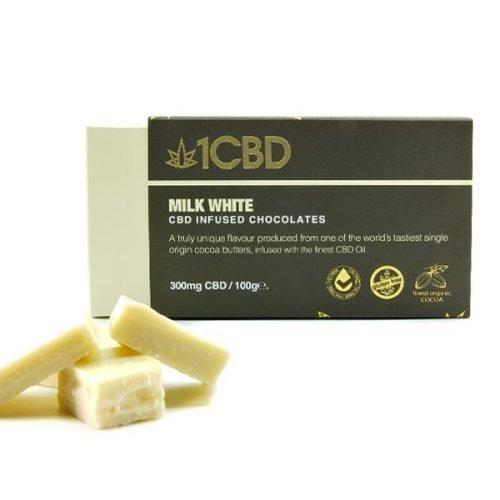 1CBD, CBD infused Milk Chocolate