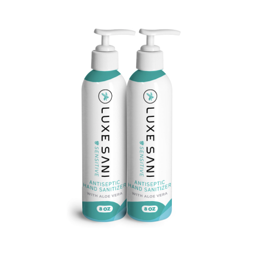 CBD Luxe, Luxe Sani Moisturising hand sanitiser for the fight against covid 19, buy online at authentic organic CBD