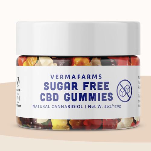 Verma Farms Sugar Free CBD Gummies, 250Mg CBD